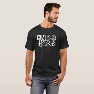 De Kudde van Nerd - de Witte Tekst van de T Shirt