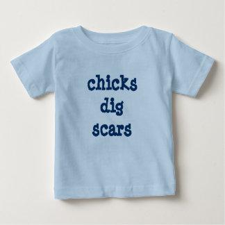 de kuikens graven littekens nieuw overhemd baby t shirts