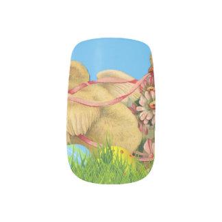 De Kuikens van Pasen van de lente Minx Nail Folie