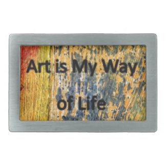 De kunst is Mijn Manier van het Leven Gesp