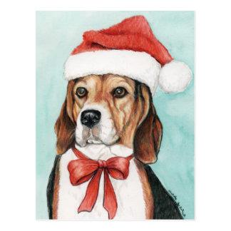 De Kunst Postcad van de Hond van de Brak van Briefkaart