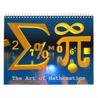 De kunst van de kalender van de Wiskunde