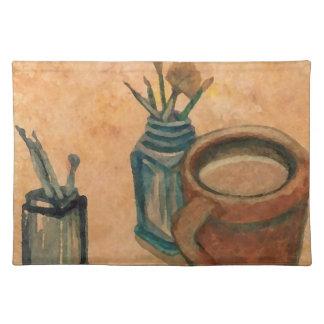 De Kunst van de koffie - Eerste Ding in de Ochtend Placemat