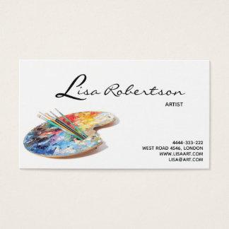 De Kunst van de Studio van de kunstenaar trekt de Visitekaartjes