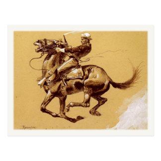 De Kunst van het briefkaart met Frederic Remington