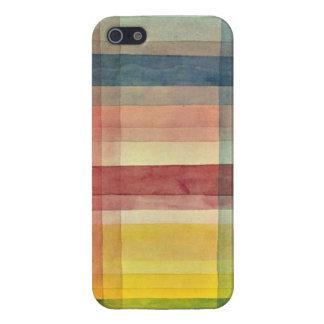De kunst van Paul Klee: Architectuur van de Vlakte iPhone 5 Covers