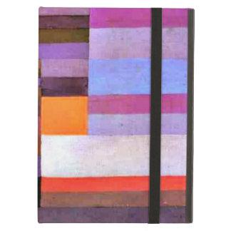 De kunst van Paul Klee: De Avond van de brand iPad Air Hoesje