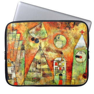 De kunst van Paul Klee: Doorslaggevend Uur, het Laptop Sleeve