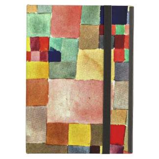 De kunst van Paul Klee: Flora op Zand, het beroemd iPad Air Hoesje