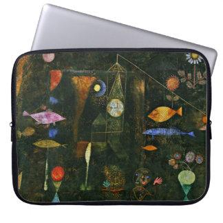 De kunst van Paul Klee: Het Magische, beroemde Computer Sleeve