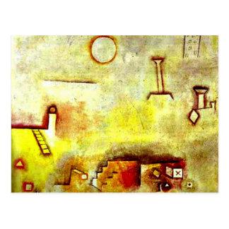 De kunst van Paul Klee: Het opnieuw opbouwen Briefkaart