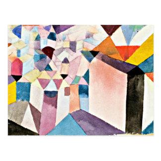 De kunst van Paul Klee: Inzicht in een Stad Briefkaart
