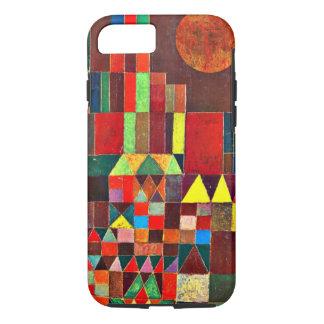 De kunst van Paul Klee: Kasteel en Zon, het iPhone 8/7 Hoesje