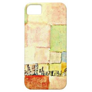De kunst van Paul Klee - Neuer Stadtteil in M Barely There iPhone 5 Hoesje