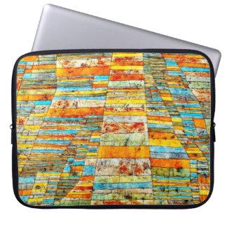 De kunst van Paul Klee: Weg en Byways Computer Sleeve