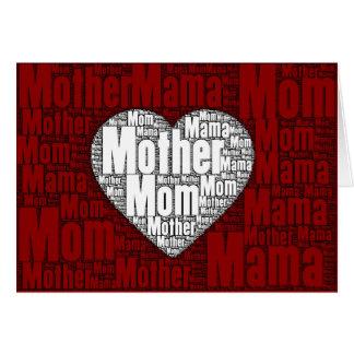 De Kunst van Word: Valentijn voor Moeder Kaart
