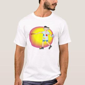 De kunstenaar t shirt