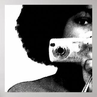 De Kunstenaar van Afro Poster