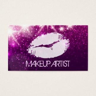 De Kunstenaar van de Make-up van de kosmetiek - Visitekaartjes