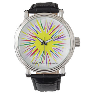 De Kunstenaar van het Autisme van de Wateren van Horloges