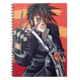 De Kunstenaar van Manga van Anime Notitieboek