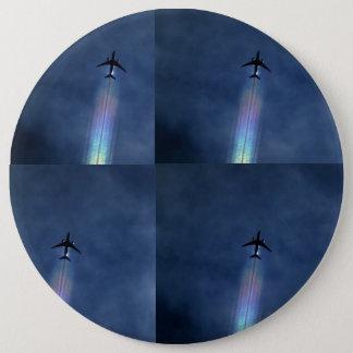 De kunstknoop van het vliegtuig ronde button 6,0 cm