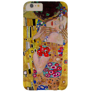 De kus door Gustav Klimt, Vintage Jugendstil Barely There iPhone 6 Plus Hoesje