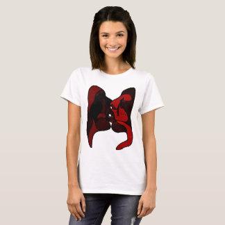 De kus - het Lichte T-shirt van Vrouwen