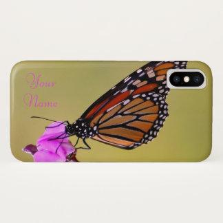 De Kussen van de vlinder iPhone X Hoesje