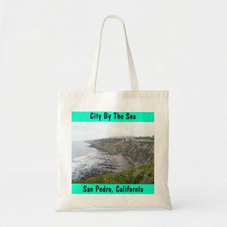 De kust Stad van San Pedro CA door de Gift van het Draagtas