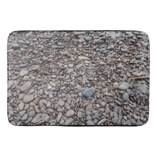 De kust van de steen badmat