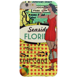 De kust van Florida het baden schoonheids retro Barely There iPhone 6 Plus Hoesje