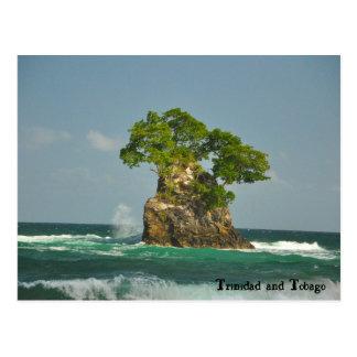 De Kust van het noorden van Trinidad Briefkaart