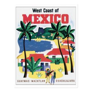 De Kust van het westen van Mexico Guaymas, Briefkaart