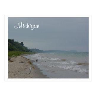 De Kust van Michigan Briefkaart