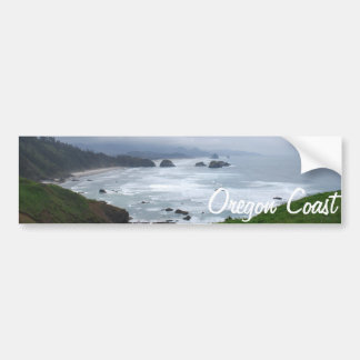 De kust van Oregon Bumpersticker