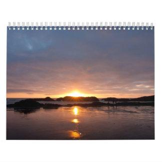 De kust van Oregon Kalender