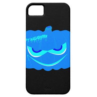 De kwade Blauwe Pompoen van Halloween Barely There iPhone 5 Hoesje