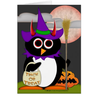 De kwade Heks van de Pinguïn Briefkaarten 0