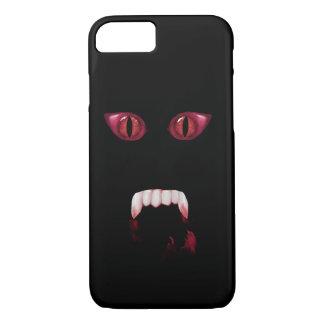 De kwade Rode Ogen van de Demon & de Bloedige iPhone 8/7 Hoesje