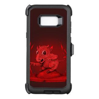 De KWADE VREEMDE Reeks van de Verdediger BIDI OtterBox Defender Samsung Galaxy S8+ Hoesje