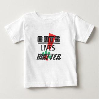 DE KWESTIE VAN HET LEVEN VAN KATTEN! T-shirt van