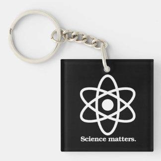 De Kwesties van de wetenschap - het Symbool van de Sleutelhanger