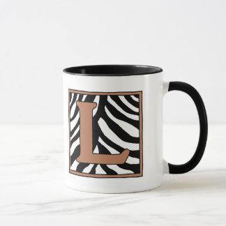 De l-gestreepte Mok van de Koffie