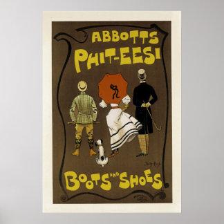 De Laarzen en de Schoenen van phit-Eesi ~ van Poster