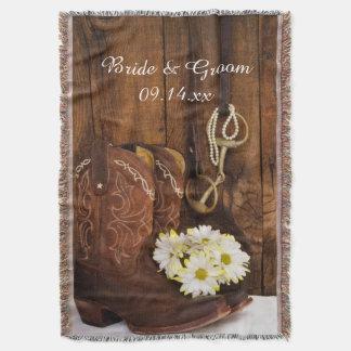 De Laarzen van de cowboy, het Huwelijk van het Deken