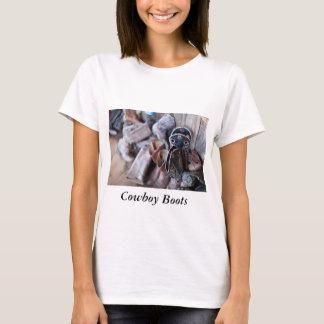 De Laarzen van de Cowboy van de T-shirt van