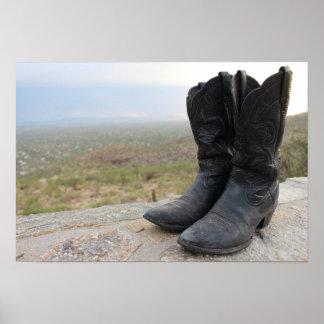 De Laarzen van Tucson Arizona Poster