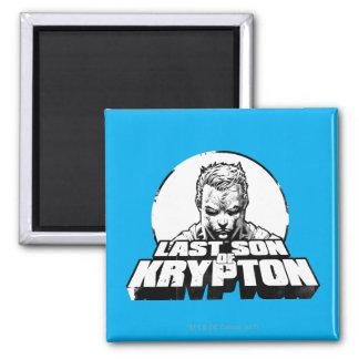 De Laatste Zoon van de superman van Krypton Vierkante Magneet