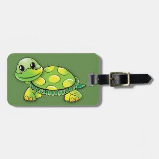 De Labels van de Bagage van de schildpad